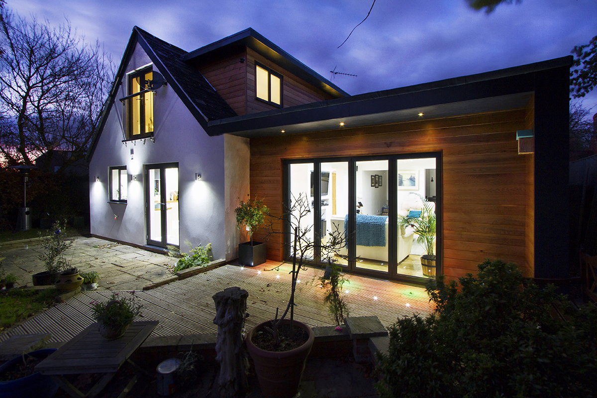 Oxfordshire, Architects, Extension, bungalow, Zenith