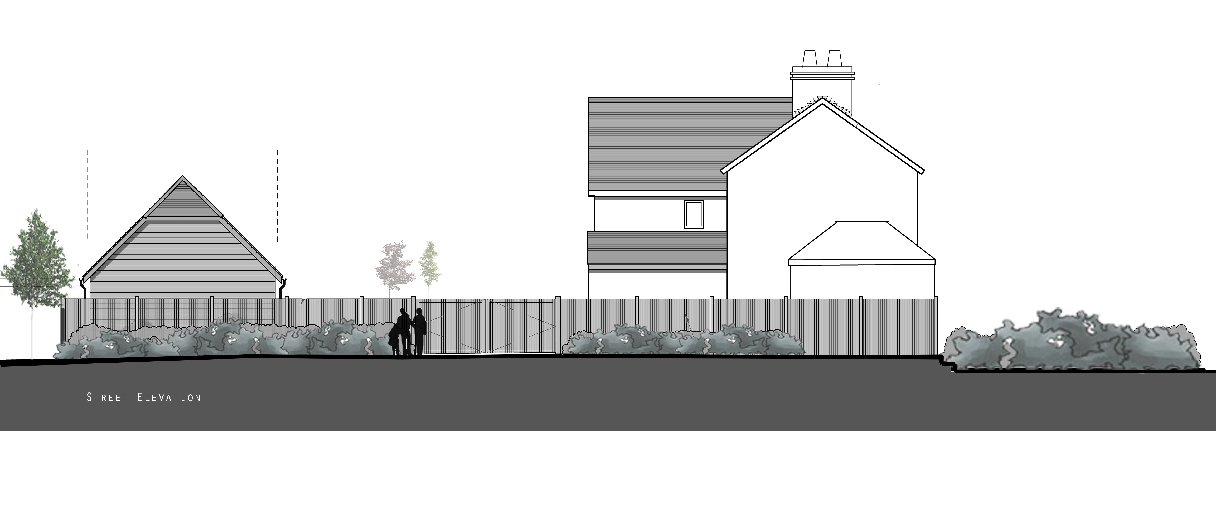 Zenith architecture two bay garage with ancillary for Garage with accommodation